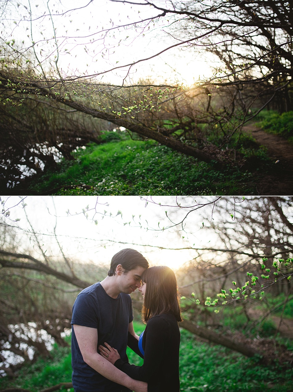 golden hour engagement shoot pollok park -12.jpg