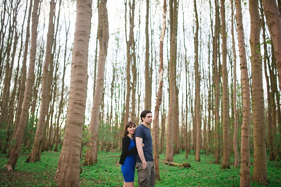 golden hour engagement shoot pollok park -17.jpg