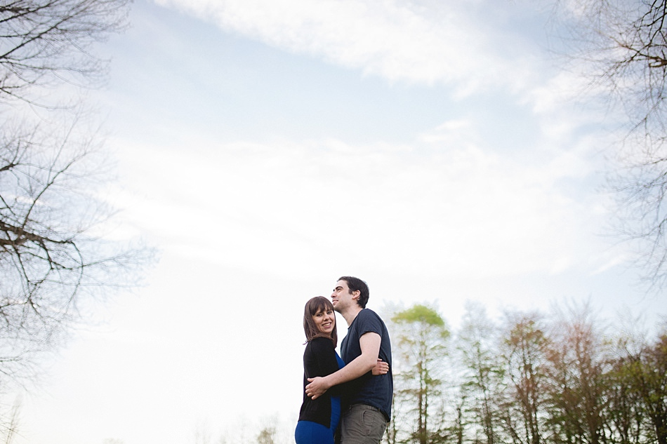 golden hour engagement shoot pollok park -18.jpg
