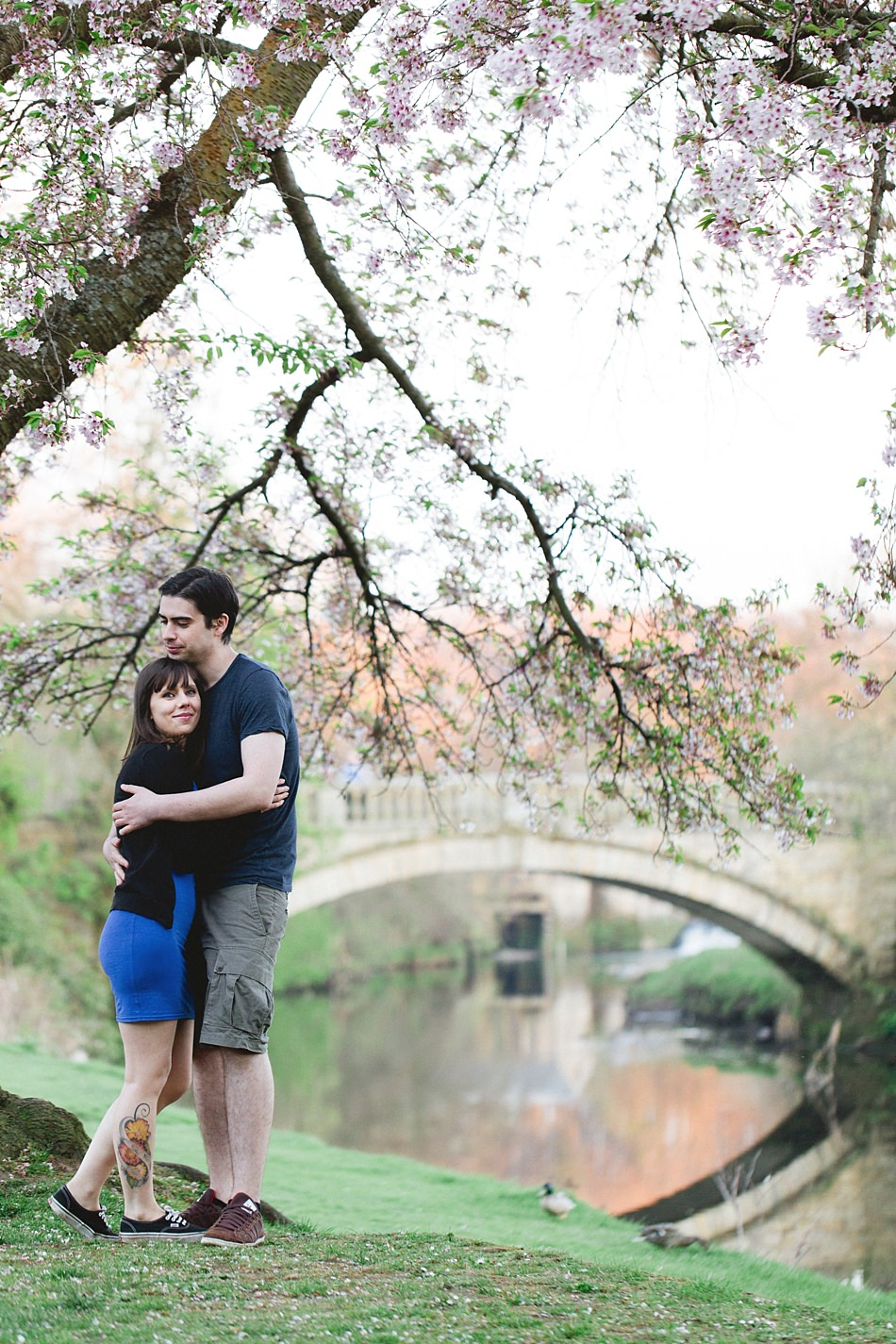 golden hour engagement shoot pollok park -20.jpg
