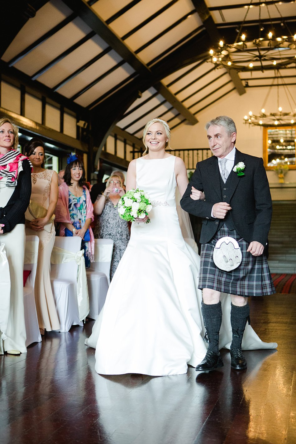 wedding photographers ayrshire brig