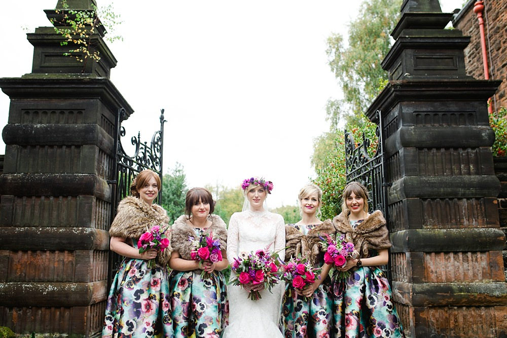Autumn wedding Glasgow,Cat Robertson Make up,Chantal Lachance-Gibson Photography /destination wedding photographers,Destination wedding Photographer,Fine Art Wedding Photographers Glasgow,Fine Art Wedding Photographers Scotland,Floral Menagerie,Floral crown bride,The Gibsons,husband and wife photographers scotland,husband and wife wedding photographers Glasgow,natural wedding photographers Scotland,photographers Glasgow,romantic photographers Scotland,wedding Pollokshields Burgh Halls,