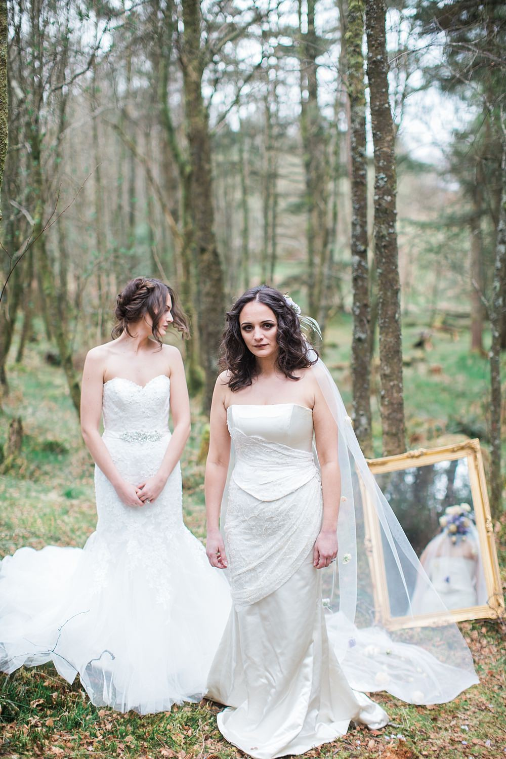 Ginger and Lime events,Laura Gray Hair Beauty Bridal,The Gibsons,brides,rock the dress shoot,sisters,styled shoot,wedding shoot loch lomond,