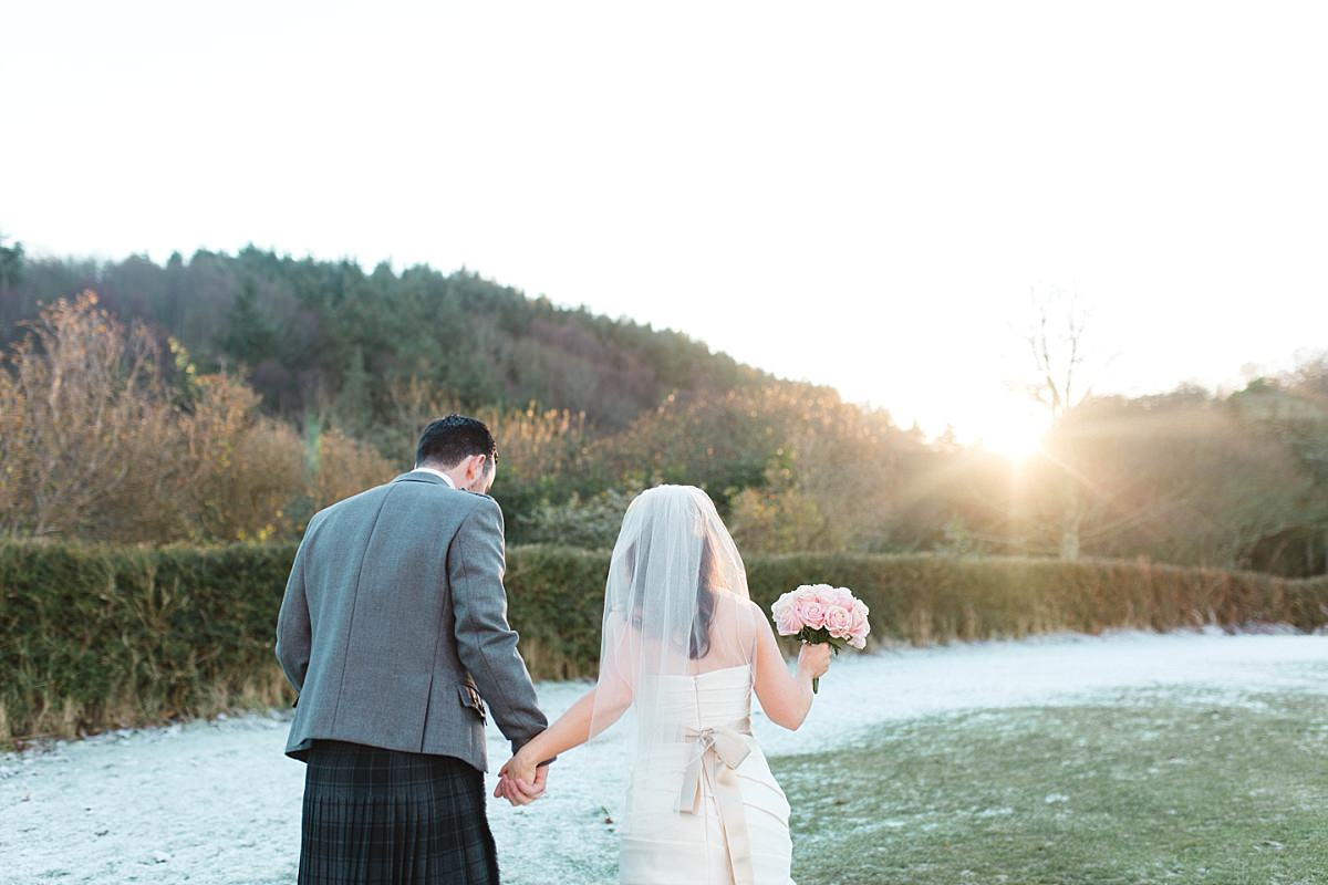Fine Art Wedding Photographers,The Gibsons,elegant wedding photographers glasgow,frosty wedding,natural wedding photographers,romantic photographers Scotland,wedding dunglass estate,wedding photographers glasgow,winter wedding,winter wedding Scotland,