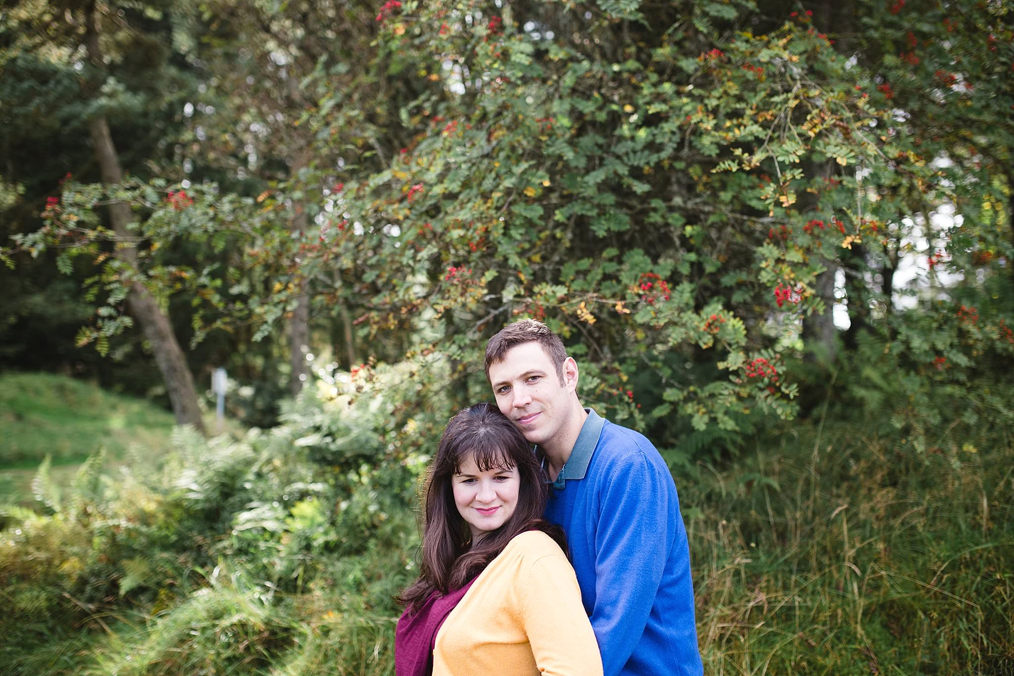 The Gibsons,engagement shoot scotland,