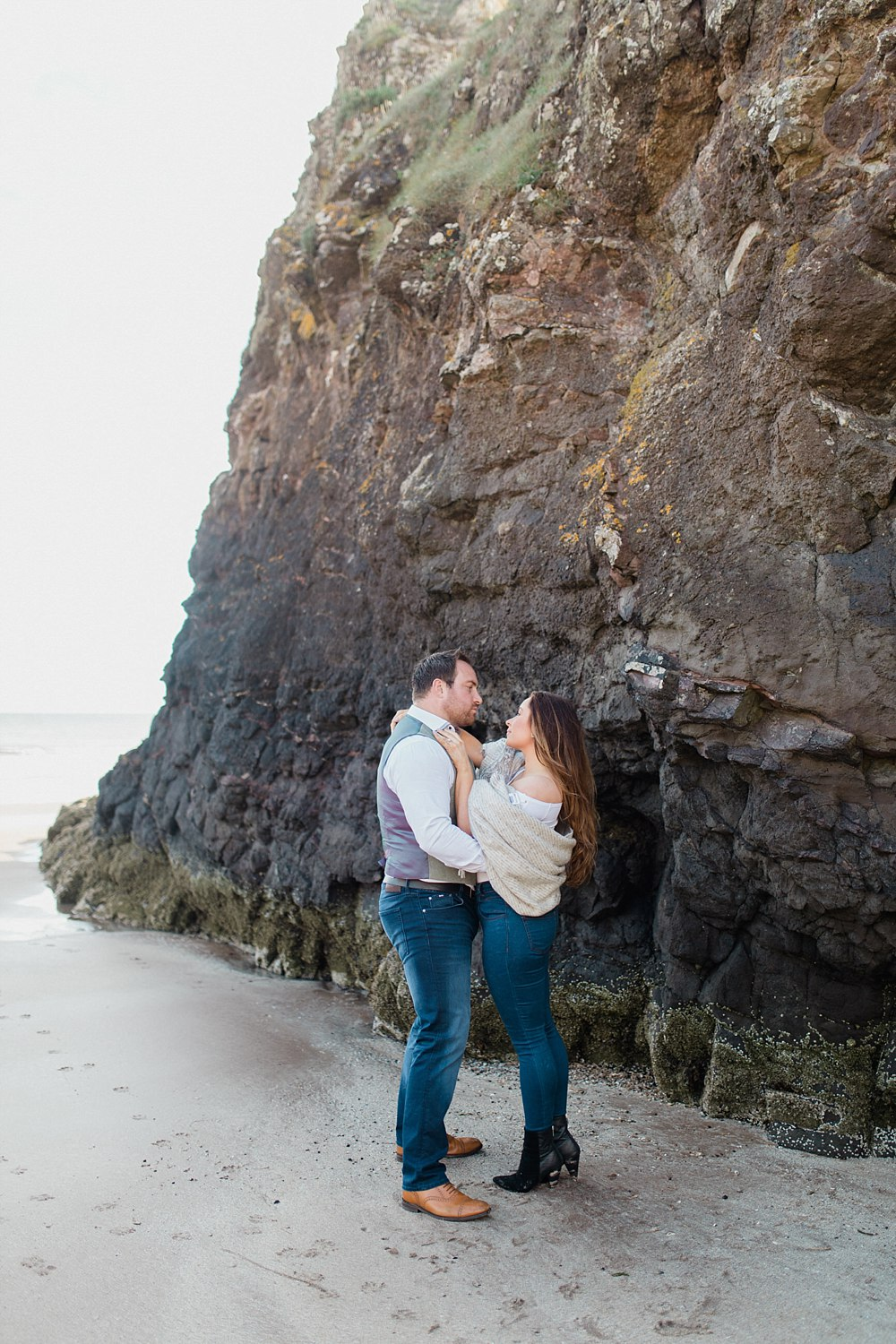 Fine Art Wedding Photographers,The Gibsons,beach engagement shoot,beach engagement shoot scotland,beaches scotland,engagement aberdeen,engagement photographers glasgow,light and bright,light and bright wedding photographers scotland,