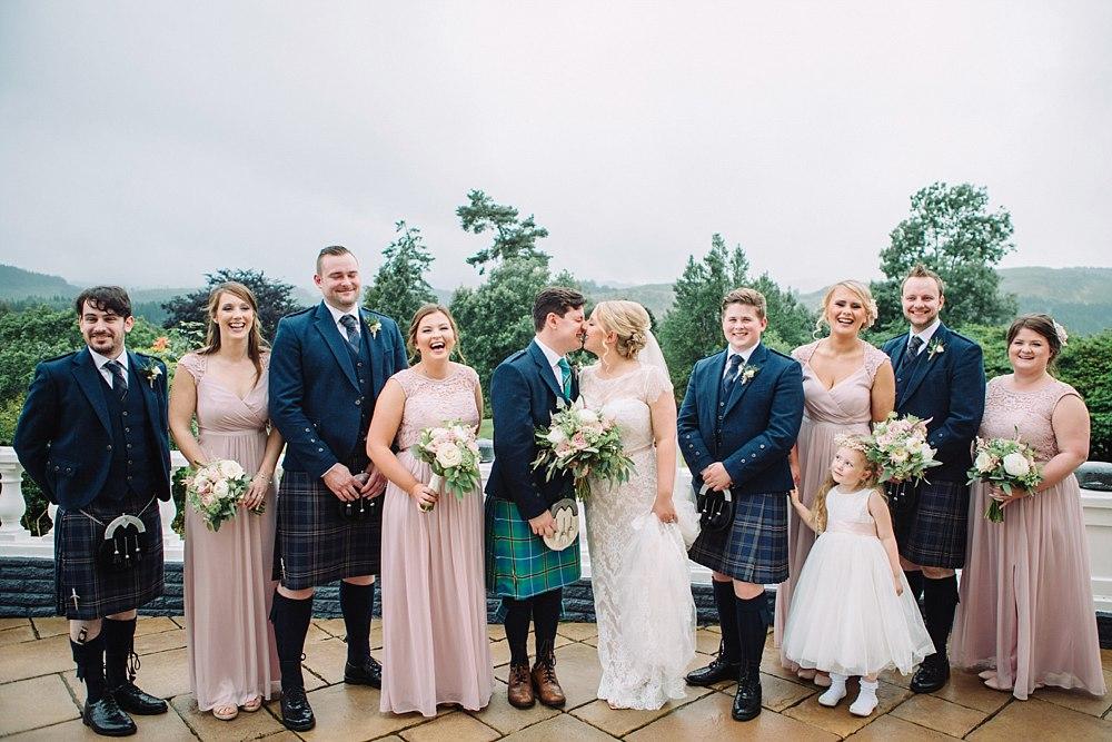 Fine Art Wedding Photographers,Glasgow Bride,The Gibsons,elegant wedding photographers glasgow,first look scotland,first look wedding,lochside wedding,misty wedding scotland,natural wedding photographers,romantic photographers Scotland,wedding loch ard,wedding trossachs,