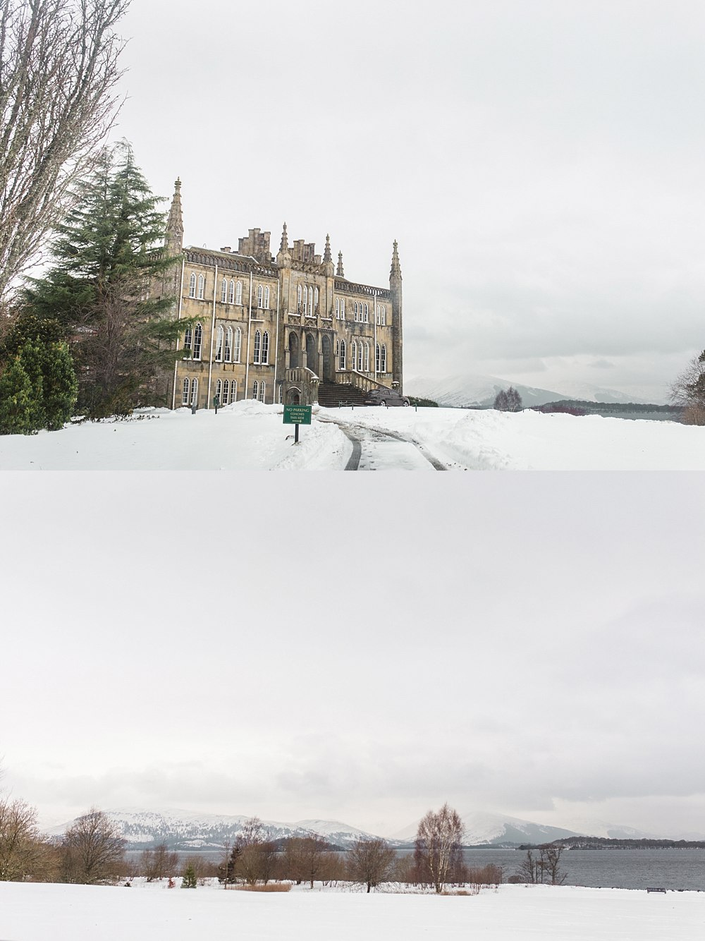 Beast from the east,Fine Art Wedding Photographers,Ross Priory,light and bright,light and bright wedding photographers scotland,loch lomond wedding,romantic photographers Scotland,the gibsons wedding photography,winter weddings,