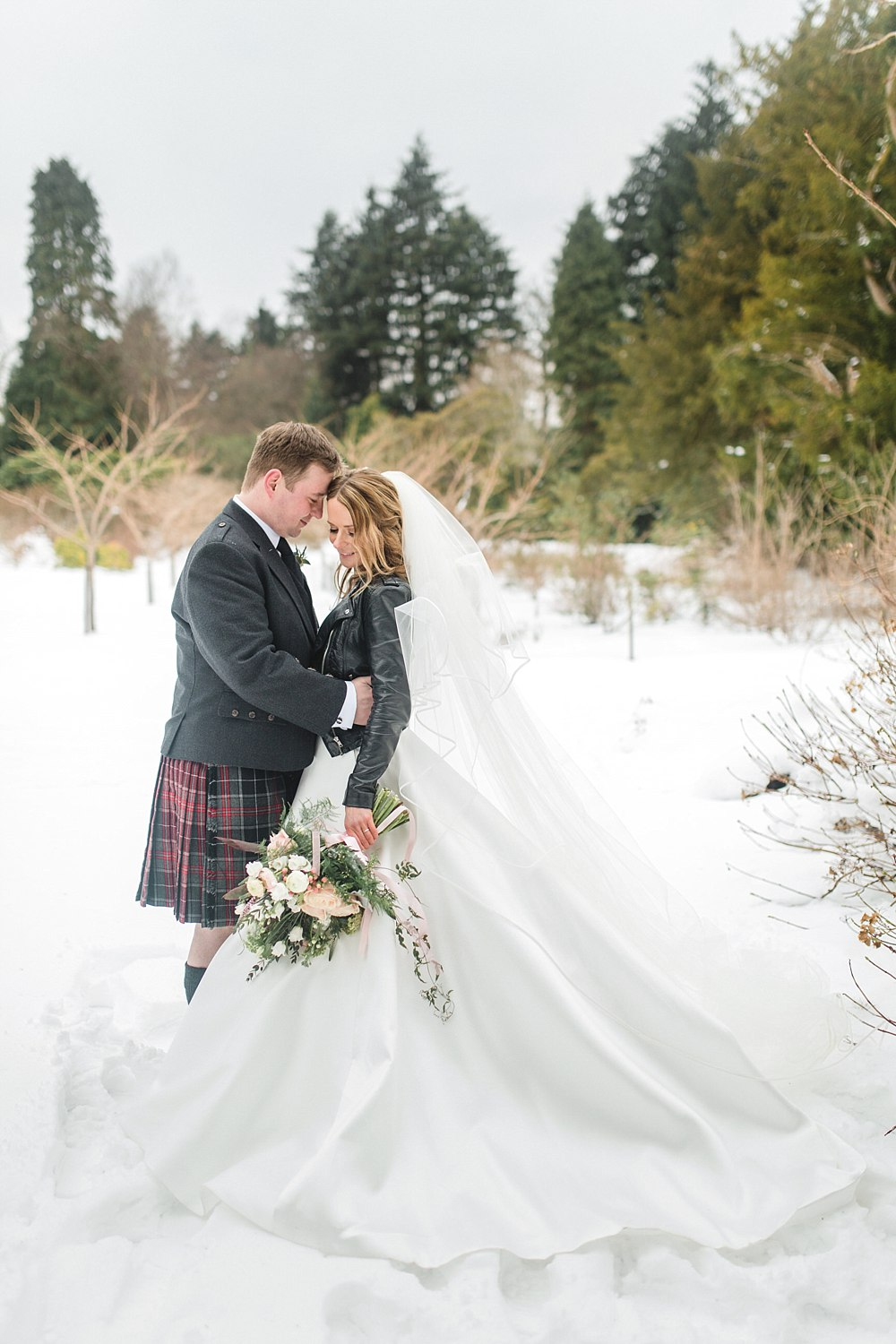 Beast from the east,Fine Art Wedding Photographers,Ross Priory,elegant wedding photographers glasgow,light and airy wedding photographers glasgow,light and bright wedding photographers scotland,loch lomond wedding,romantic photographers Scotland,winter weddings,