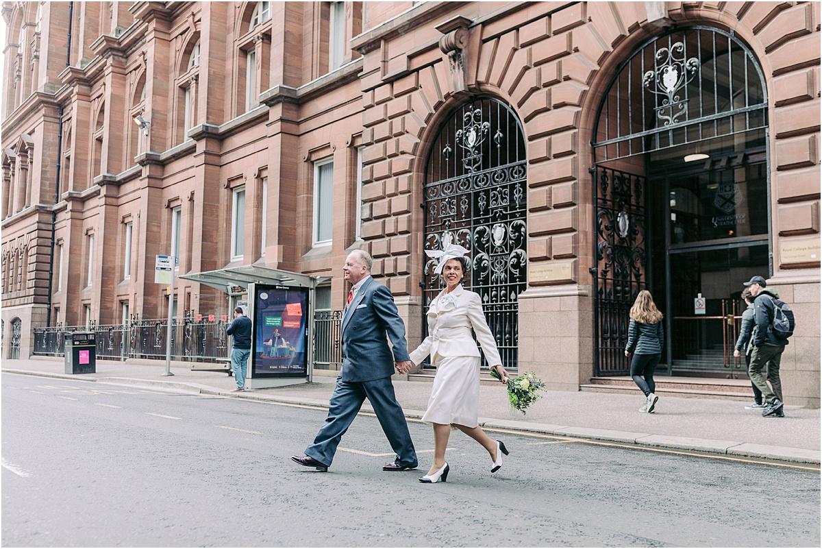Fine Art Wedding Photographers,city elopement,elopements,husband and wife photographers scotland,light and airy wedding photographers glasgow,light and bright,romantic photographers Scotland,romantic scotland,vintage themed elopement,vintage themed wedding,