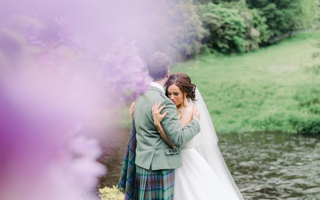 Beautiful Brig O'Doon Wedding