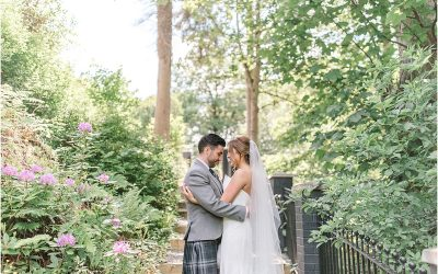 Beautiful & Sunny Crossbasket Castle Wedding