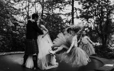 A small and intimate Highlands Scottish Wedding
