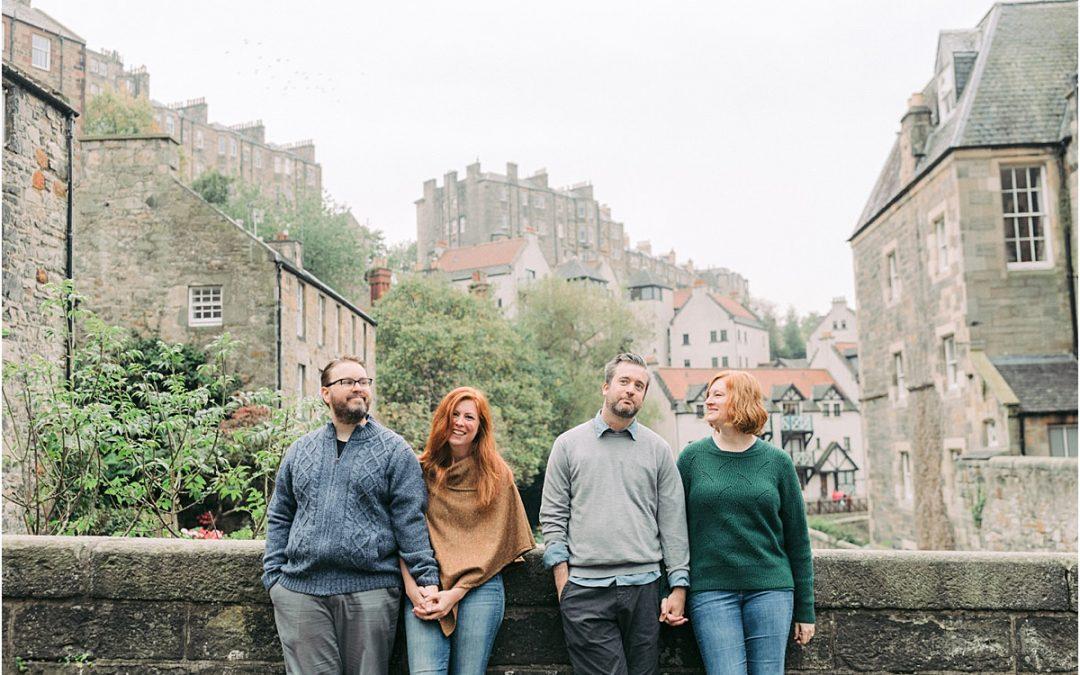 Edinburgh Friends travel shoot