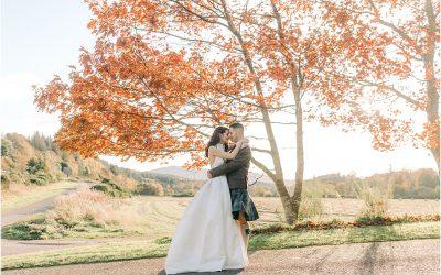 Autumn wedding at The Craighellachie Hotel