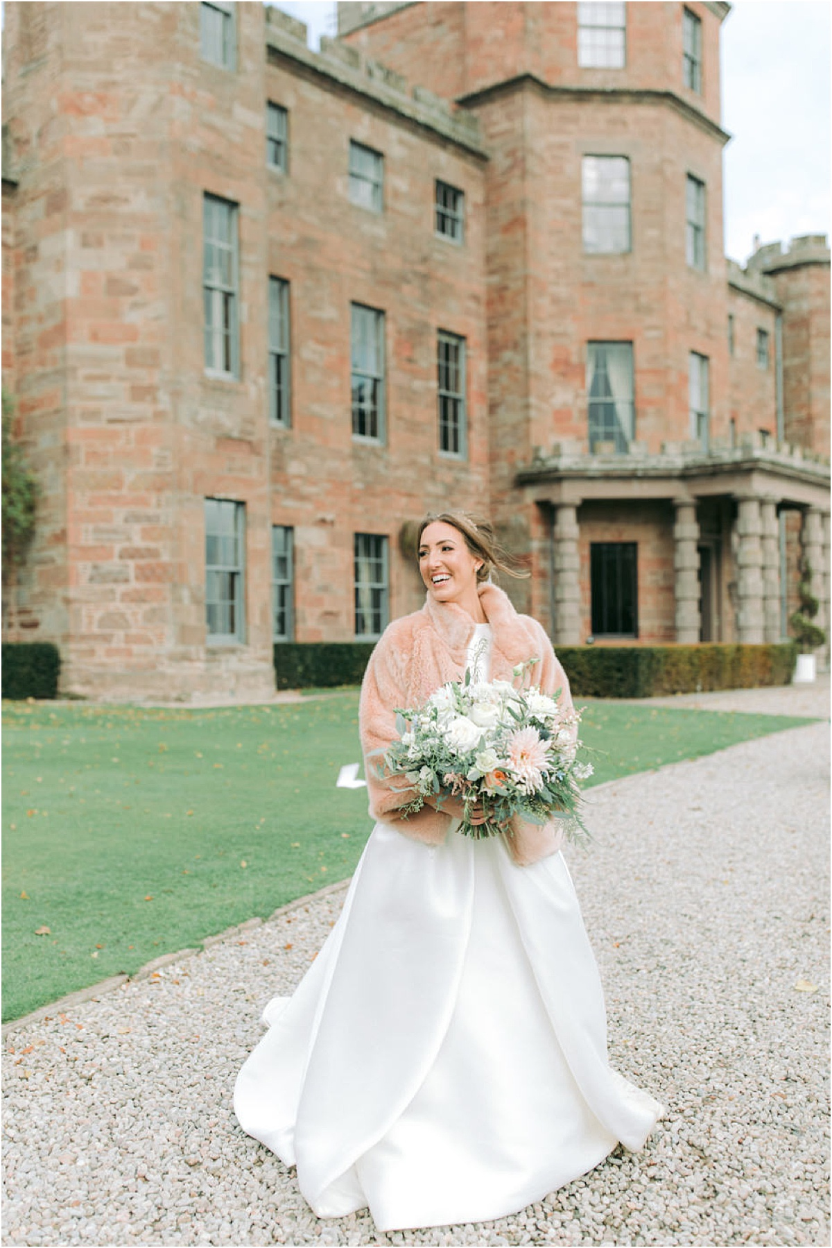 Fasque Castle wedding,Fine Art Wedding Photographers,The Gibsons,light and airy wedding photographers glasgow,natural wedding photographers,romantic photographers Scotland,two wedding photographers scotland,