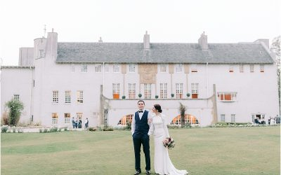 House for an art lover wedding