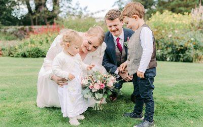 Kids being kids at weddings