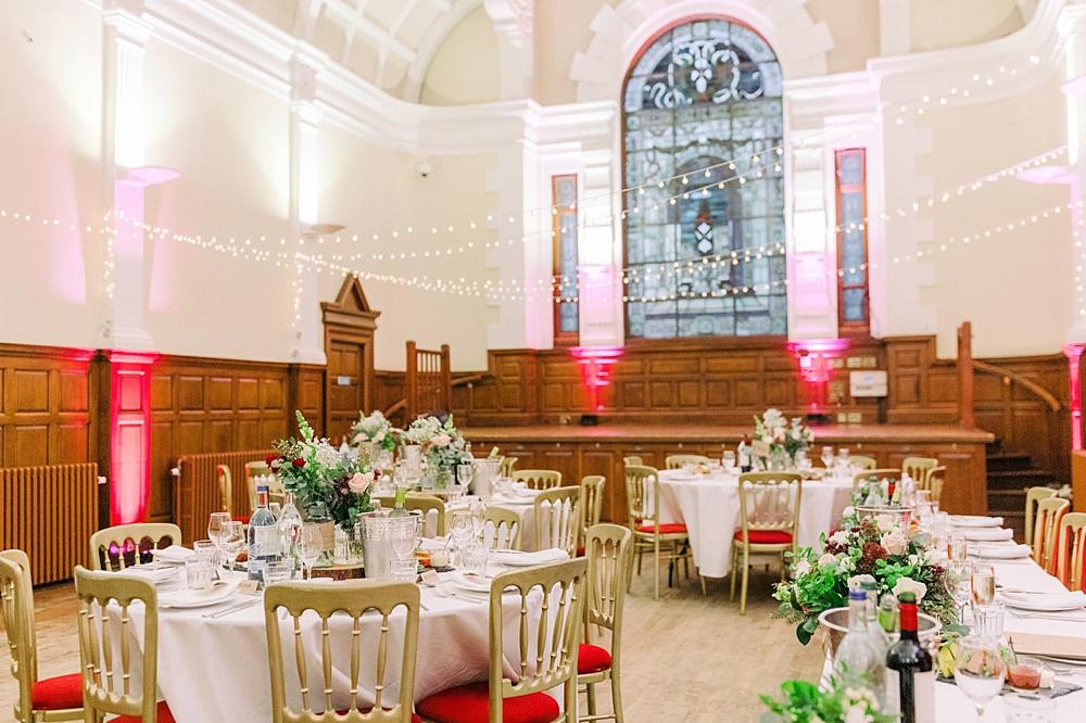 Scottish Weddings Decor