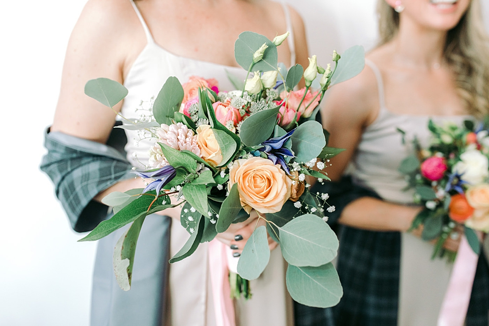 All about the wedding bouquets & florals