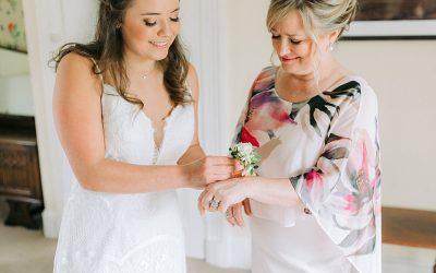 Parent wedding moments